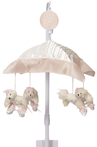 Sweet Potato Lil' Princess Musical Mobile, Pink/Cream/Ivory by Sweet Potatoes by Glenna Jean Mfg.