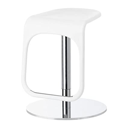 Pleasant Ikea Urban Bar Stool White Chrome Plated 55 74 Cm Pabps2019 Chair Design Images Pabps2019Com