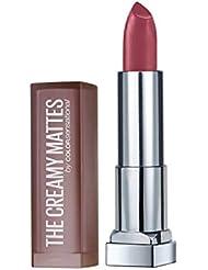 Maybelline Color Sensational Creamy Matte Lipstick, Touch of Spice, 0.15 oz.
