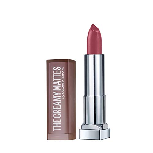 (Maybelline New York Color Sensational Creamy Matte Lipstick, Touch of Spice, 0.15 oz.)