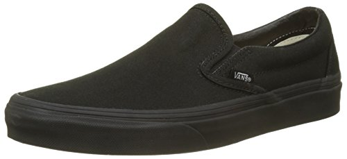 Black On Classic Negro Slip Black Unisex Adulto Zapatillas Vans Bka pHw0Rxqw