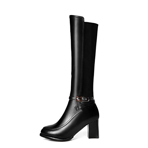(Women's Plaza Market Riding Boot (US7) Black)