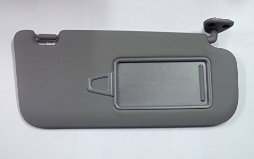 (Hyundai Motors OEM Genuine 85202-2H020-8M Right Passenger Inside Sun Visor Gray 1-pc For 2007 ~ 2010 Hyundai Elantra : Avante HD )