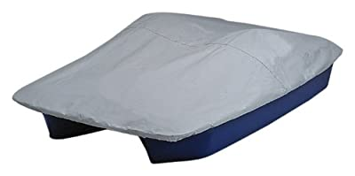 Sun Dolphin 5 Seat Pedal Boat Mooring Cover (Grey/Blue)