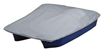 Sun Dolphin 5 Seat Pedal Boat Mooring Cover (Grey/Blue)  sc 1 st  Amazon.com : 5 person pedal boat with canopy - memphite.com