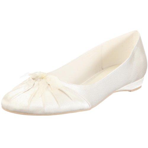 Para Zapatos Mujer Menbur Marfil Tela De 034010a04 Novia SB44fAw