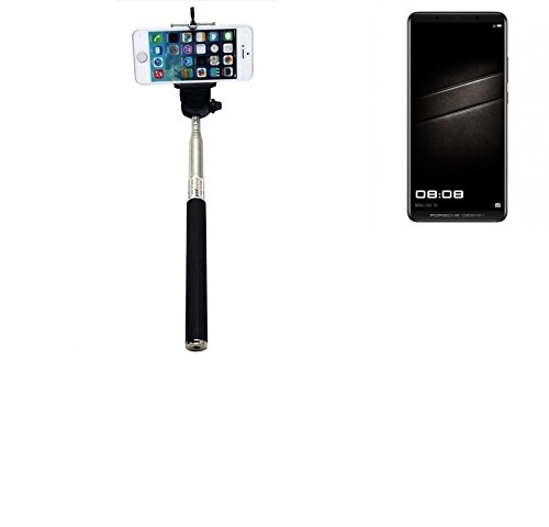 K-S-Trade Selfie Stick palillo para Huawei Mate 10 Porsche Design, Negro, Monopod, mástil telescópico, autorretrato: Amazon.es: Electrónica