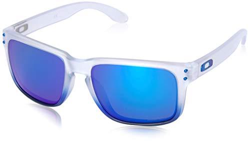 (Oakley Men's Holbrook Non-Polarized Iridium Square Sunglasses, SAPPHIRE MIST, 57.0 mm)