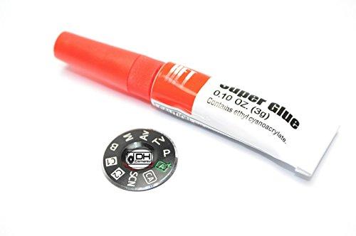dial-mode-plate-interface-cap-canon-6d-original-oem-part-repair-free-glue