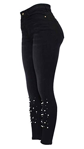 Taille Motif Unique 8 Jeans Fashion Skinny Barfly Femme qCxIBZHSnw