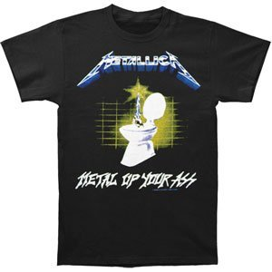 Metallica - Metal Up Mens S/S T-Shirt In Black, Size: XX-Large, Color: Black