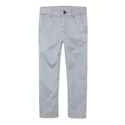 Uniform Chino - The Children's Place Big Boys' Skinny Uniform Chino Pants, FIN Gray, 18