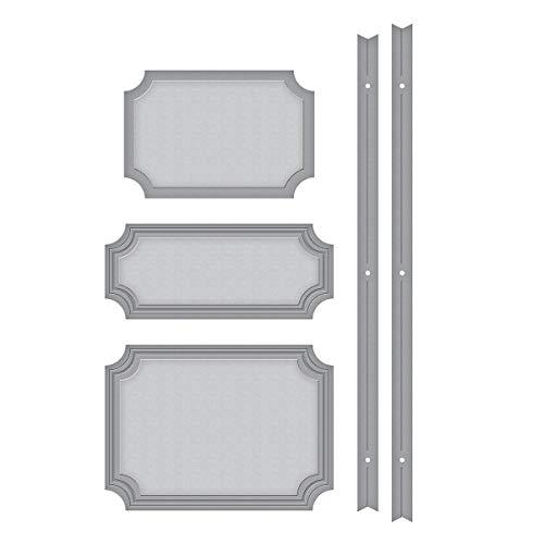 - Spellbinders S4-1010 Booklet Binding Set Etched/Wafer Thin Dies, Metal
