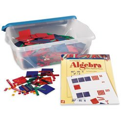Nasco Complete Algebra Tiles Classroom Kit - Math Education Program - TB17249