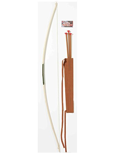 Forum Novelties Men's Super Deluxe Bow and Arrow Costume Accessory Set, Multi Colored, One Size -