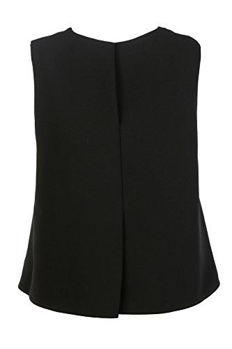 Alexander McQueen Haut Top Femme sans Manches Studded Noir