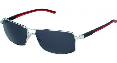 Tag Heuer Automatic 0883 Sunglasses 102 Pure/Black Red/Outdoor Grey - Heuer Sunglasses Automatic Tag