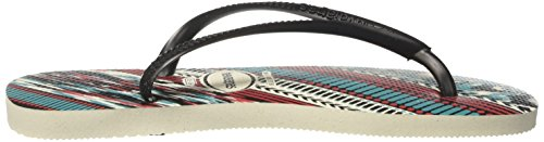 Black Blue White Blanc Tongs Top Mixte Havaianas Adulte Yp7w7q