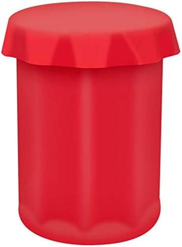 Compra Xigeapg 1 Unids Gran Copa de?Hielo Rojo Silicona Gran Cubo ...