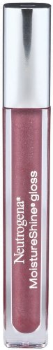 Neutrogena MoistureShine Lip Gloss, Potent Plum 320 (Pack of 2)