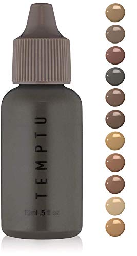 Temptu Airbrush Root-touch Up & Hair Color  Brown/Black, 0.5 Fl Oz