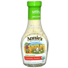 Annie's Naturals, Organic, Cowgirl Ranch Dressing, 8 fl oz (236 ml)(pack of 3)