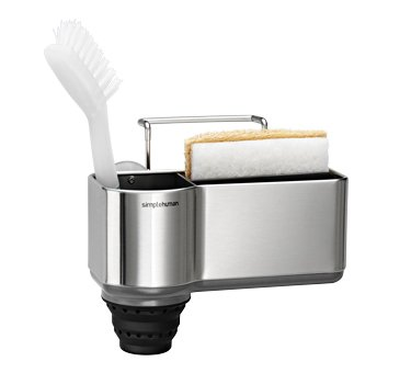 simplehuman Sink Caddy, Brushed Stainless Steel by simplehuman