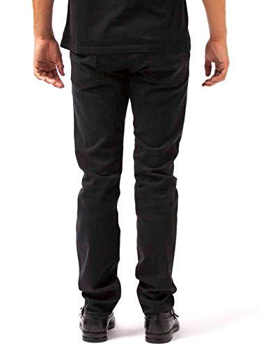 Jeans Alexander 463847qjy401001 cotone Uomo Mcqueen nero in qx8x71R