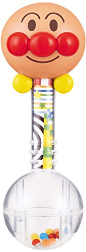 Rattle in base Birabo Anpanman 2way Bathing (Smile Rattle)
