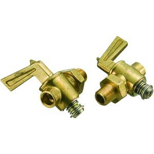 1/8''MPT 30psi Brass Lever Handle Drain Cock With Ground Seat