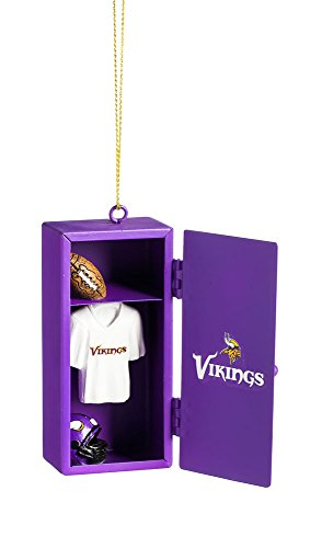 Team Sports America Minnesota Vikings Team Locker Ornament