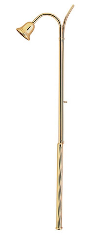 Stratford Chapel Brass Fluted Handle Candle Lighter with Bell Snuffer, 35 Inch by Stratford Chapel (Image #1)