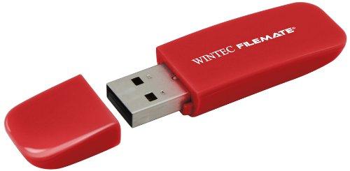 Filemate 3FMSP03U2RD-16G-R Wintec Contour 16GB USB Flash Drive - - Drive Autorun Usb