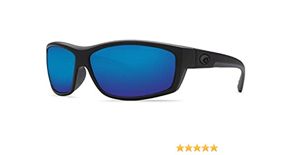 Saltbreak 580G Polarized Sunglasses in Blackout & Blue Mirror Lens
