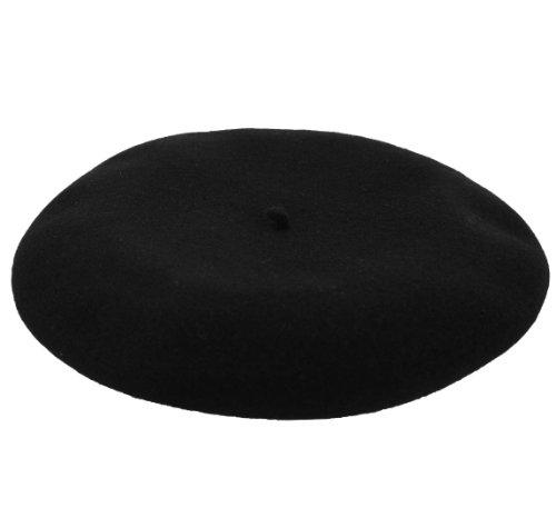Laulhère Men's Pedrito Beret Size 60 cm Black