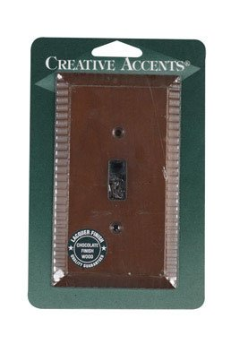 Creative Accents Wood Wall Plate - Creative Accents Wood Finish Wall Plate (8501)
