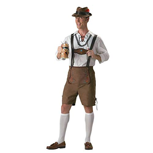 InCharacter Oktoberfest Guy Adult Mens Costume size Large ()