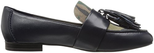 The Fix Women's Fabiana Tassel Penny Loafer, Midnight Navy/Camo, 8 M US by The Fix (Image #7)