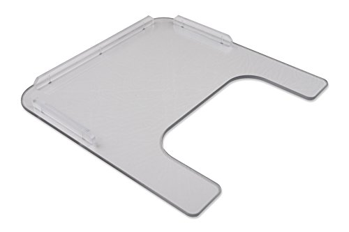 "Rehabilitation Advantage 1/4"" Polycarbonate Wheelchair Tray"