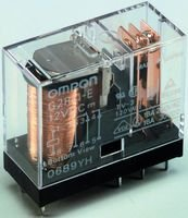 OMRON ELECTRONIC COMPONENTS G2R-1A-E-DC12 POWER RELAY SPST-NO 12VDC, 16A, PC BOARD (5 pieces)