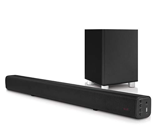 Pure Acoustics Wireless Surround Bar and Subwoofer - Sound Bar Acoustic