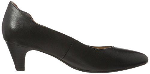 Caprice 22410, Zapatos de Tacón para Mujer Negro (Black Nappa)