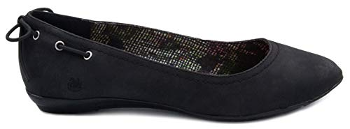 Gloria Vanderbilt Women's Nita Skimmer Flat, Slip On Pointed Toe Fashion Dress Shoe Black 9 by Gloria Vanderbilt (Image #1)'