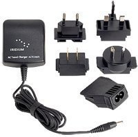 Iridium 9505A / 9555 / 9575 Extreme Satellite Phone AC Wall Charger with International Plug Kit by iridium