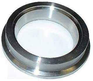 44mm Wastegate INLET FLANGE TIAL MV-R MVR VBAND 304 STAINLESS STEEL WELD ON