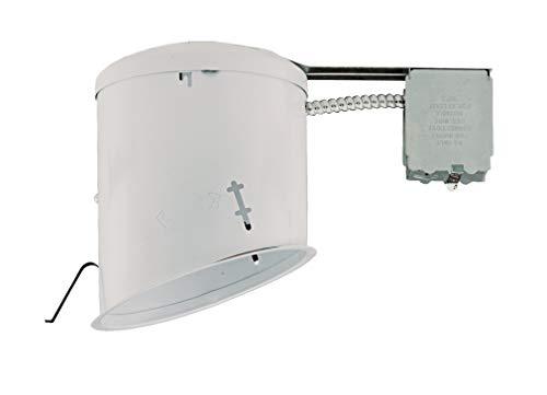NICOR Lighting 6-Inch Non-IC Rated Sloped Recessed Lighting Housing Retrofit Kit (17020R)