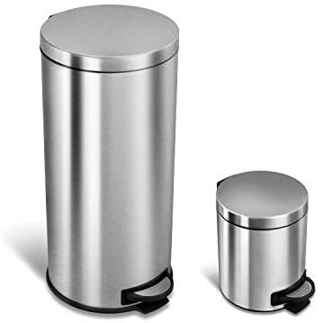 NINESTARS CB SOT 30 1 Step Trash Stainless product image