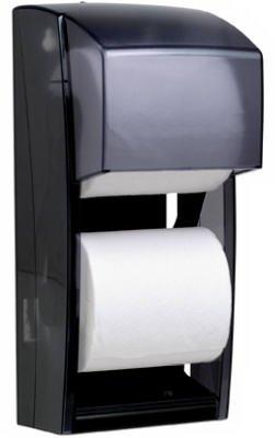 KIM09021 - Coreless Double Roll Bath Tissue Dispenser