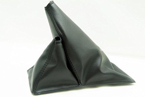 Fits 1984-1989 Toyota 4 Runner 4x4 5spd Synthetic Black Leather Shift Boot10_5 Inch . (Vinyl Part Only)