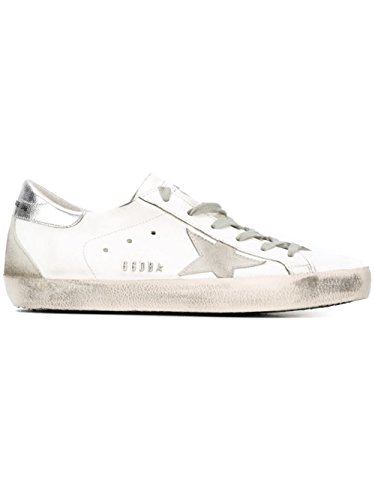 Golden Goose Sneakers Donna GCOWS590W77 Pelle Bianco
